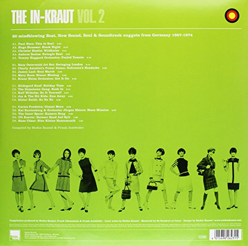 The In-Kraut, Vol. 2: Hip-Shaking Grooves Made in Germany 1967-1974 [Vinyl]