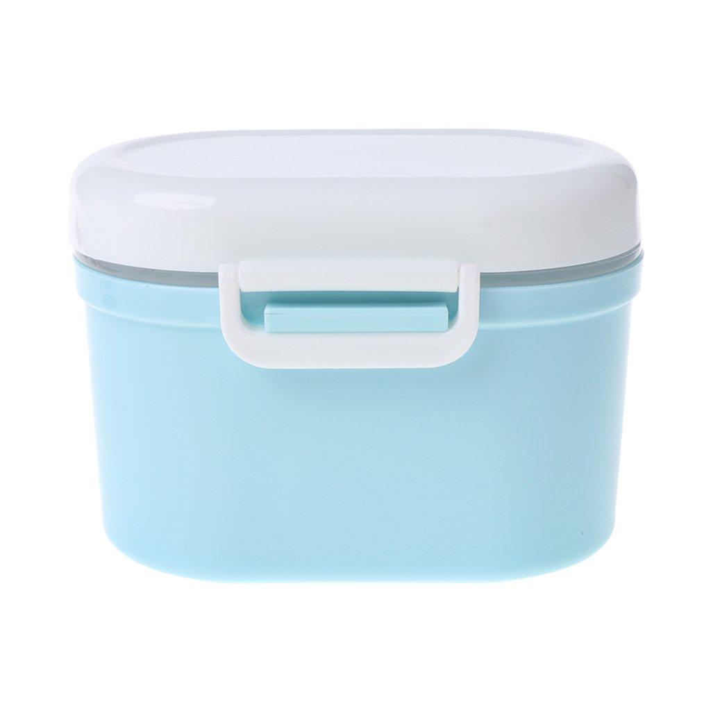 Cuigu Milchpulver-Behä lter, Tragbare Formel Fü r Die Aufbewahrung Von Lebensmitteln - Versiegelt (Blau)