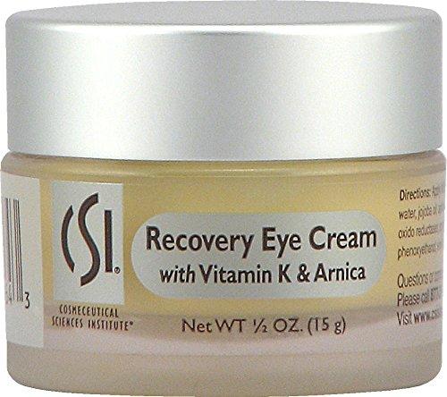 Crème CSI Recovery yeux avec de la vitamine K et Arnica - 0,5 oz