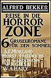 Reise in die Horror-Zone - 6 Gruselromane für den Sommer (German Edition)