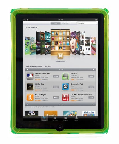 Hard Candy Cases Sleek Skin Case for Apple iPad - Green - (SK-IPAD-GRN)