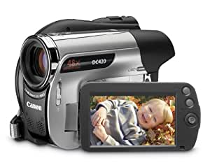 Canon DC420 DVD Camcorder w/48x Advanced Zoom - 2009 MODEL (Discontinued by Manufacturer)