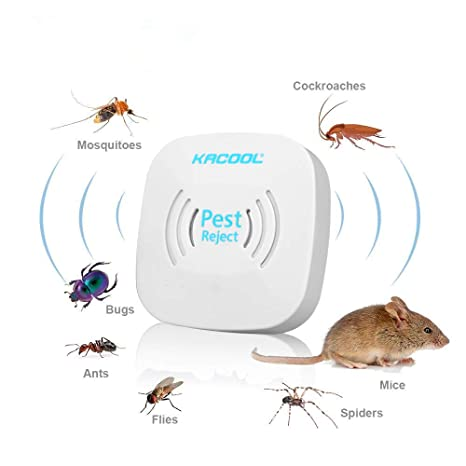 Garden Supplies Pest Control Ultrasonic Rat Control Electronic Insect Mosquito Repellent Safe And Reliable Pest Reject Killer Pest Three Color Choose