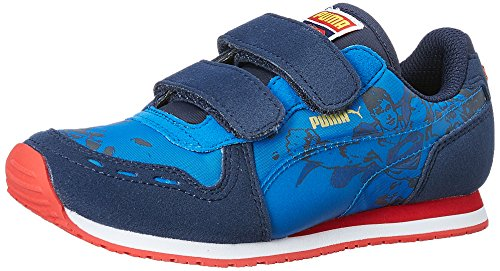 Puma Unisex Cabana Racer Superman V Inf First Walking Shoes