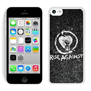 Unique rise against iPhone 5c Generation White Case