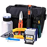 FTTH Fiber Cold Connection Tool Kit 16 in 1 with