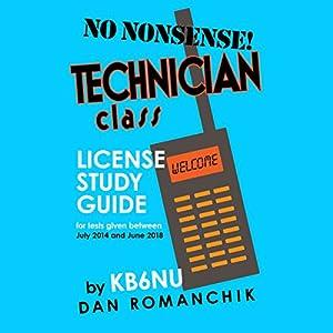 No-Nonsense Technician Class License Study Guide Audiobook