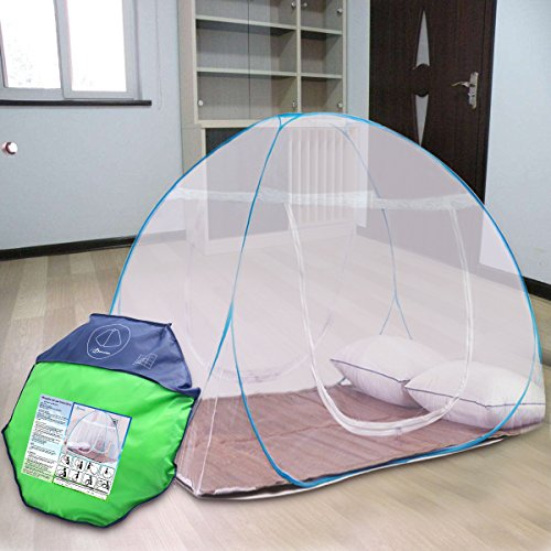 DaTong Pop-Up Mosquito Net Tent for Beds Anti Mosquito Bites folding design with net bottom for babys adults trip (180cm200cm150cm) Sporting Goods Outdoor ... & DaTong Pop-Up Mosquito Net Tent for Beds Anti Mosquito Bites ...