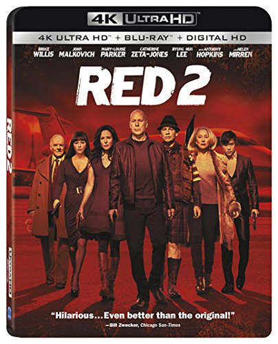 4K Blu-ray : Red 2 (With Blu-Ray, 4K Mastering, Tin Case, 2 Pack, )