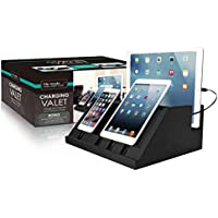 Life Made Charging Valet with four retractable cables and charging station