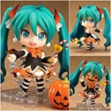 Halloween cartoon hand to do Q version clay Hatsune Hatsune Model 448 # Pumpkin Decoration