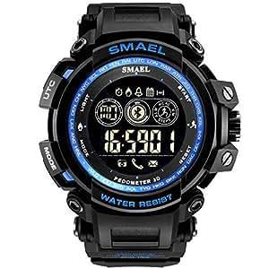 Cinnamou - Reloj Inteligente para Hombre con Bluetooth ...