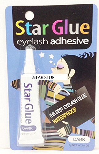 (PACK OF 6) Star Glue Eyelash Adhesive 7g Net Wt .1/4oz (Dark)