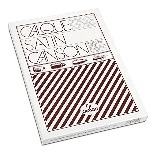 Canson Zeichenpapier Bogen/17119 A4 90/95g/qm Inh.100