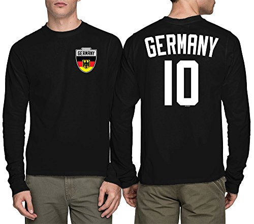 Long Sleeve Mens Germany Football