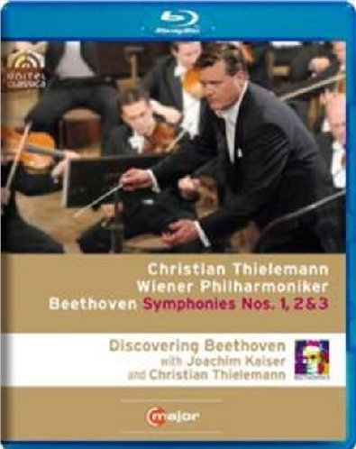 Discovering Beethoven: Symphonies Nos 1 2 & 3 (Blu-ray)