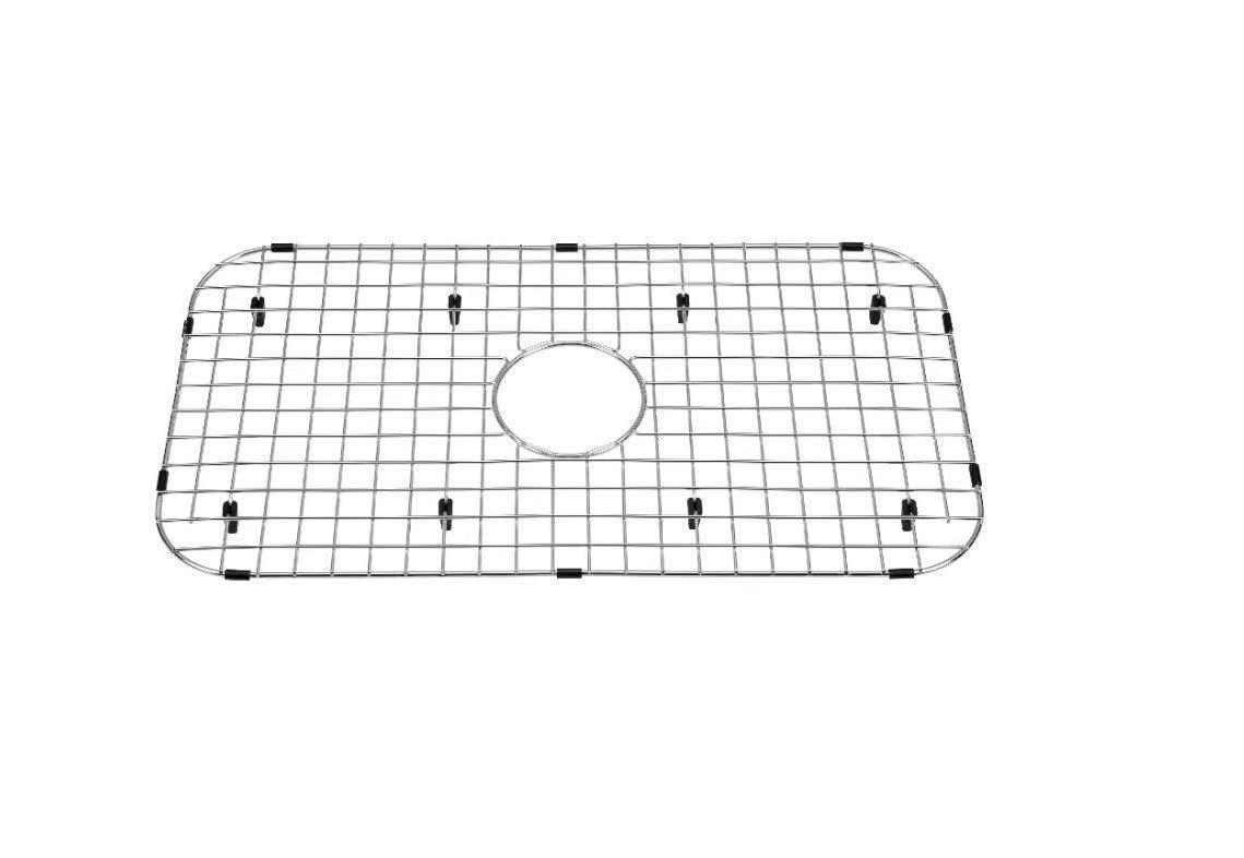 Starstar Sink Protector Stainless Steel Kitchen Sink Bottom Grid, Rack, 27.5'' x 14.5'' by Starstar