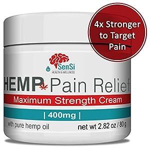Sensi Natural Hemp Oil Cream 400mg | Relieves Musc...