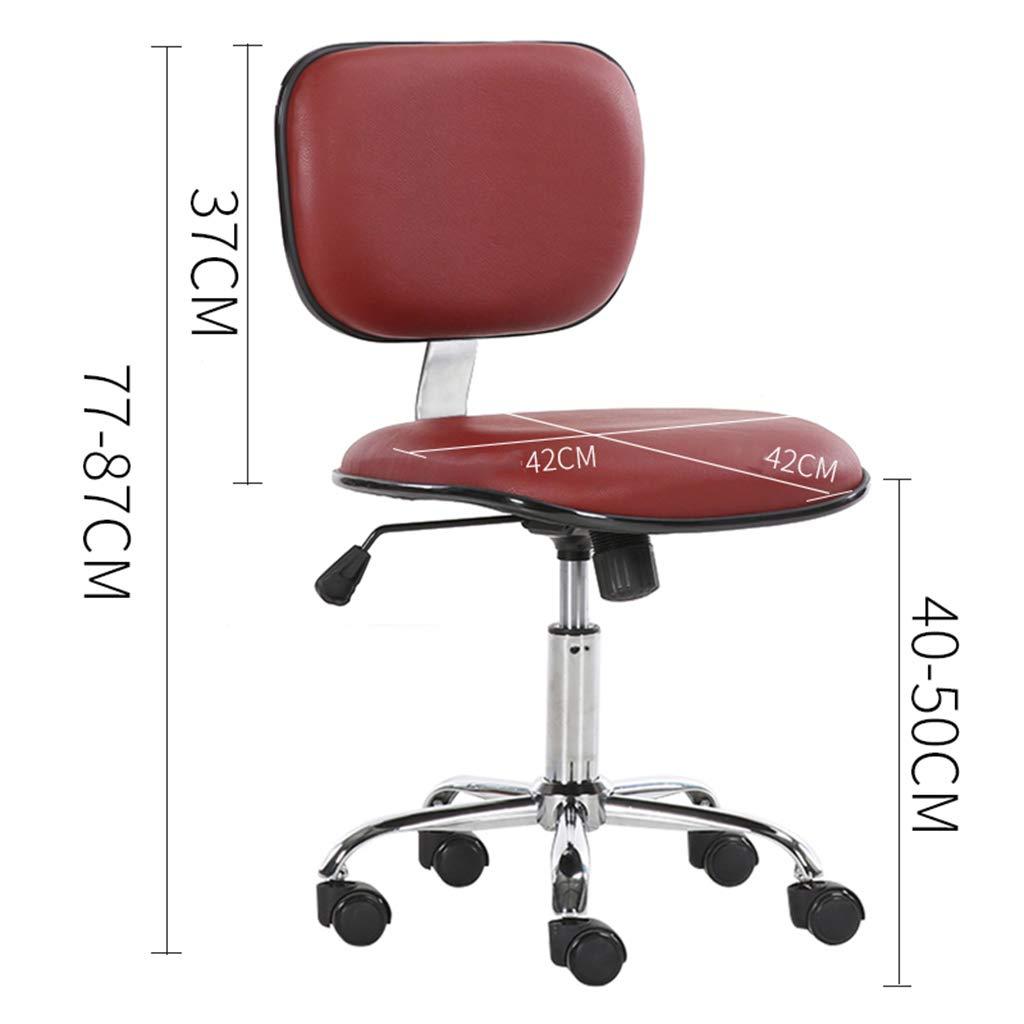 Kontorsstolar svängbara skrivbordsstolar, 130 graders avslappnande justering, bekvämt tjockt ryggstöd hög densitet svamp nr2