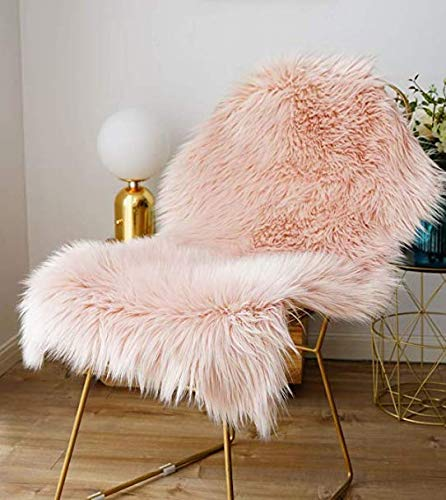 ZCZUOX Faux Sheepskin, Faux Fur Rug, Fluffy Rug for the Bedroom, Living Room or...