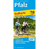 Pfalz: Radwanderkarte mit Ausflugszielen, Einkehr- & Freizeittipps, wetterfest, reißfest, abwischbar, GPS-genau. 1:100000 (Radkarte / RK)