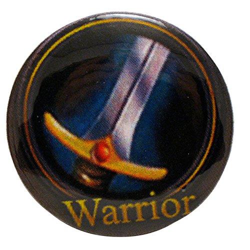 Symbol Pinback Button - World of Warcraft Warrior Class Symbol Pinback Button