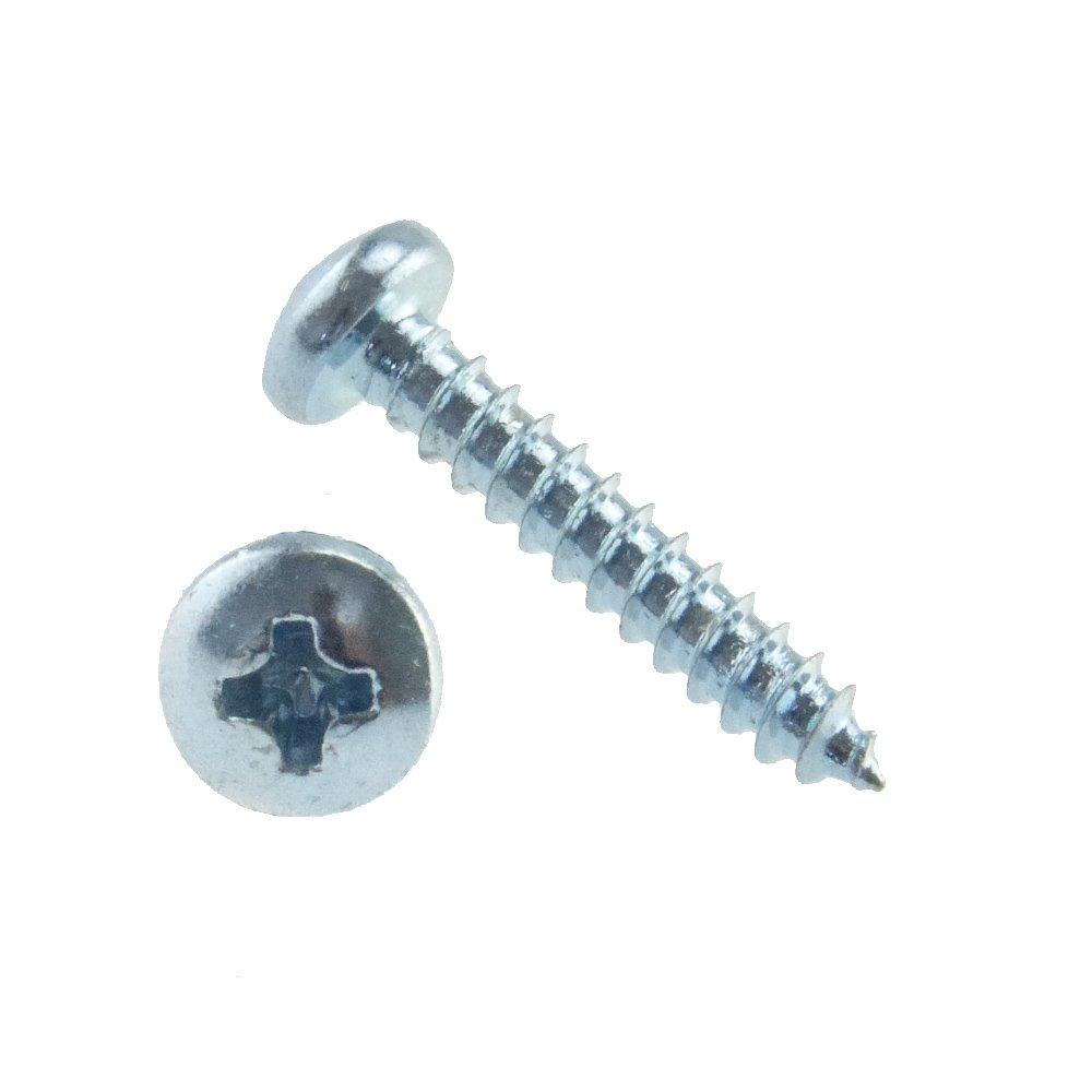 Linsen-Blechschraube DIN 7981 Stahl galv verzinkt Form C-H 6,3 x 16-100 St/ück