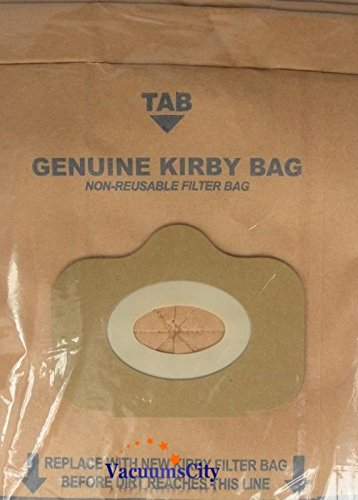 Kirby Tradition Upright Vacuum Cleaner Style 1 Paper Bags 3 Pk Part # 190679S - 3cb Bag