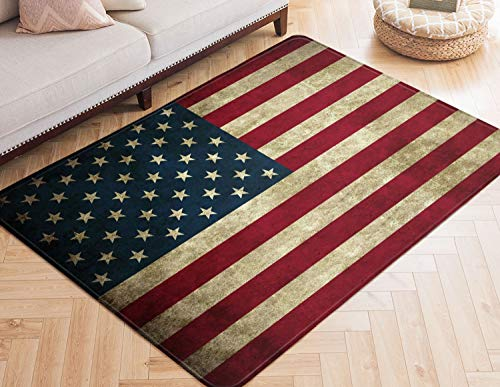 Area Rugs America Flag Large Rug Mat for Living Room Bedroom Playing Room 7