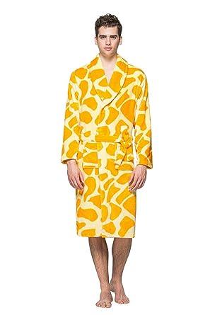 e20d41568d ... Fluffy Giraffe Print Animal Towelling Dressing Mingtai Unisex Womens  Fluffy Giraffe Print Animal Towelling Dressing Gown Ladies Mens Dressing  Gowns Bath ...