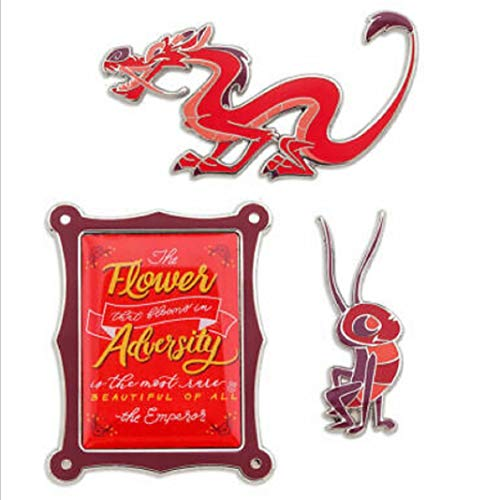 Disney Wisdom Pin Set - Mushu - February - Limited Release No Color
