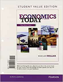 The Economy Today by Schiller 14th Edition