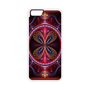 iPhone 6 4.7 Inch Cell Phone Case White 3D Abstract Ring D8U3GR