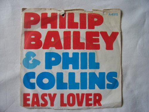 """Price comparison product image Philip Bailey & Phil Collins - Easy Lover - 7"""" Single 1984 - CBS A 4915 - UK Press"""