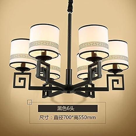 BESPD Un nuevo estilo chino moderno telas candelabros de ...