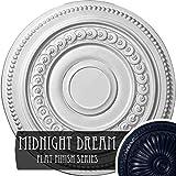 Ekena Millwork CM18OLMDF Oldham Ceiling Medallion, Midnight Dream