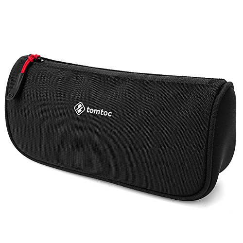 tomtoc Laptop Accessories Pouch Bag Sleeve fit for Laptop Tablet Power Adapter, Charger, Mouse, Cable, Hard Drives, Pen Case Pencil Pouch, Travel Toiletry Organizer Shaving Dopp Kit Cosmetic Bag