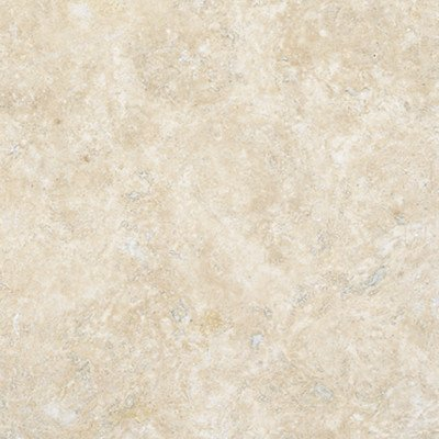 12 X 12 Tumbled Travertine Tile In Durango Cream Ceramic Floor