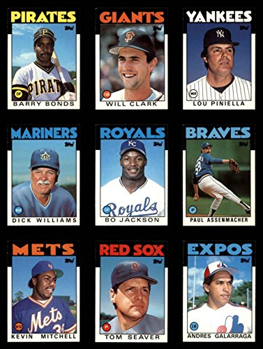 (1986 Topps Baseball Traded Complete Set (In Box) (Baseball Set) Dean's Cards 8 - NM/MT)