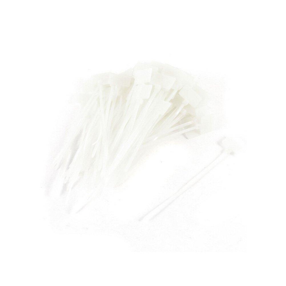 AmgateEu Kabelbinder, 200 Stück, zum Beschriften, für ...