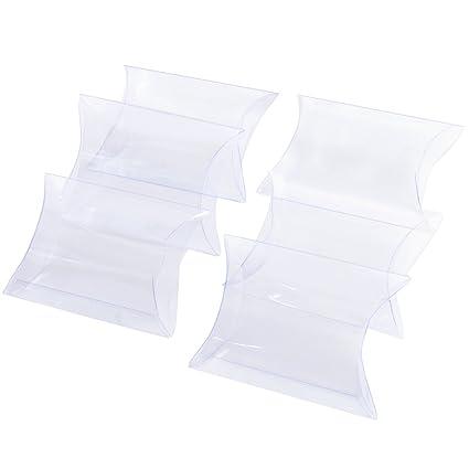 100 × Cajas Plásticas Guardar Dulces Bombones Galletas Pequeñas Arroz Detalle Regalo Recuerdo Favor Decoración para