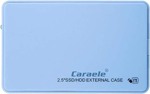 外付け ハードディスクドライブ 2.5インチ USB3.0 SATA HDDエンクロージャー 高速 青色 - 480GB