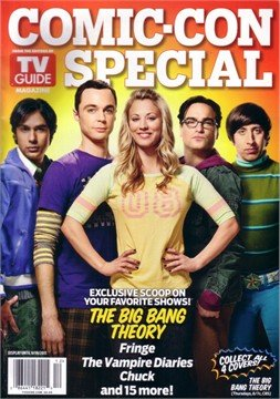 Comic Con Special Big Bang Theory TV Guide Magazine Cover (2 of 4