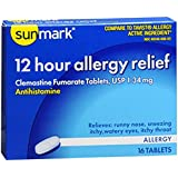 Sunmark 12 Hour Allergy Relief Tablets - 16 ct