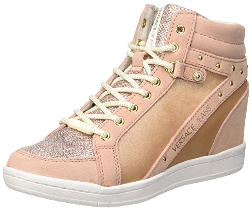 Versace Jeans Damen Ee0vrbsc1_e70021 Hohe Sneaker Oro (Oro Rosa)