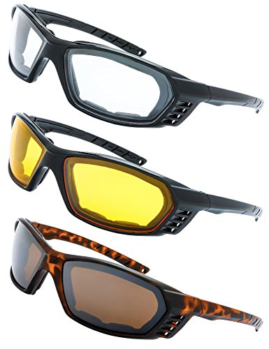 Motorcycle Riding Glasses Padded