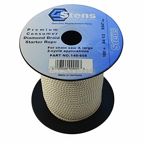 145-608 100` Diamond Braid Starter Pull Rope Cord #4-1/2 Push Lawn Mower