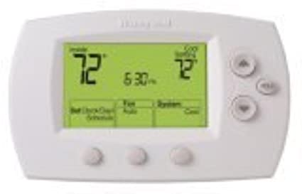 Honeywell TH6110D1005/U FocusPRO 6000 Programmable Thermostat, White (2 Pack)