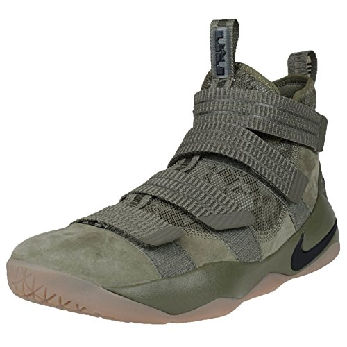 Nike Herren Lebron Soldier 10 Basketballschuhe Medium Olive / Schwarz