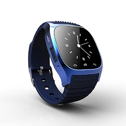 Time Owner tw-26 Smart Watch de Luxe con esfera para iphone & Android SMS